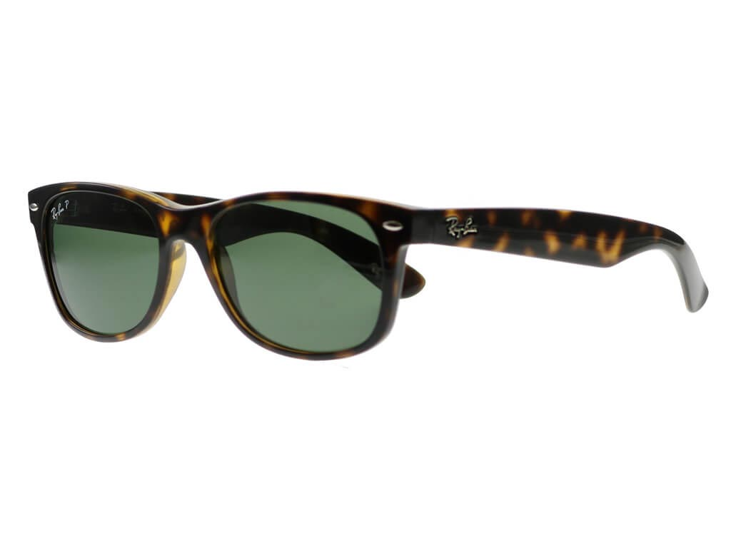 d75107fc45 Ray-Ban RB2132 New Wayfarer Tortoise 902 58 Polarised sunglasses ...