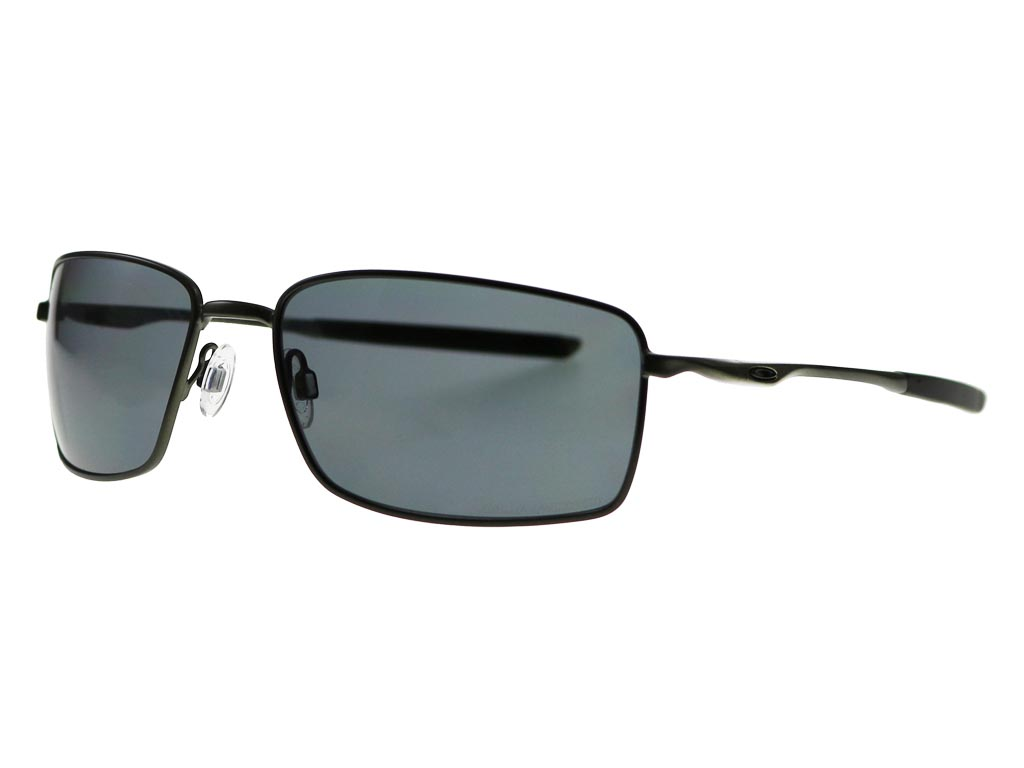 e8fa884b500 Oakley Square Wire OO4075-04 Carbon Polarised sunglasses