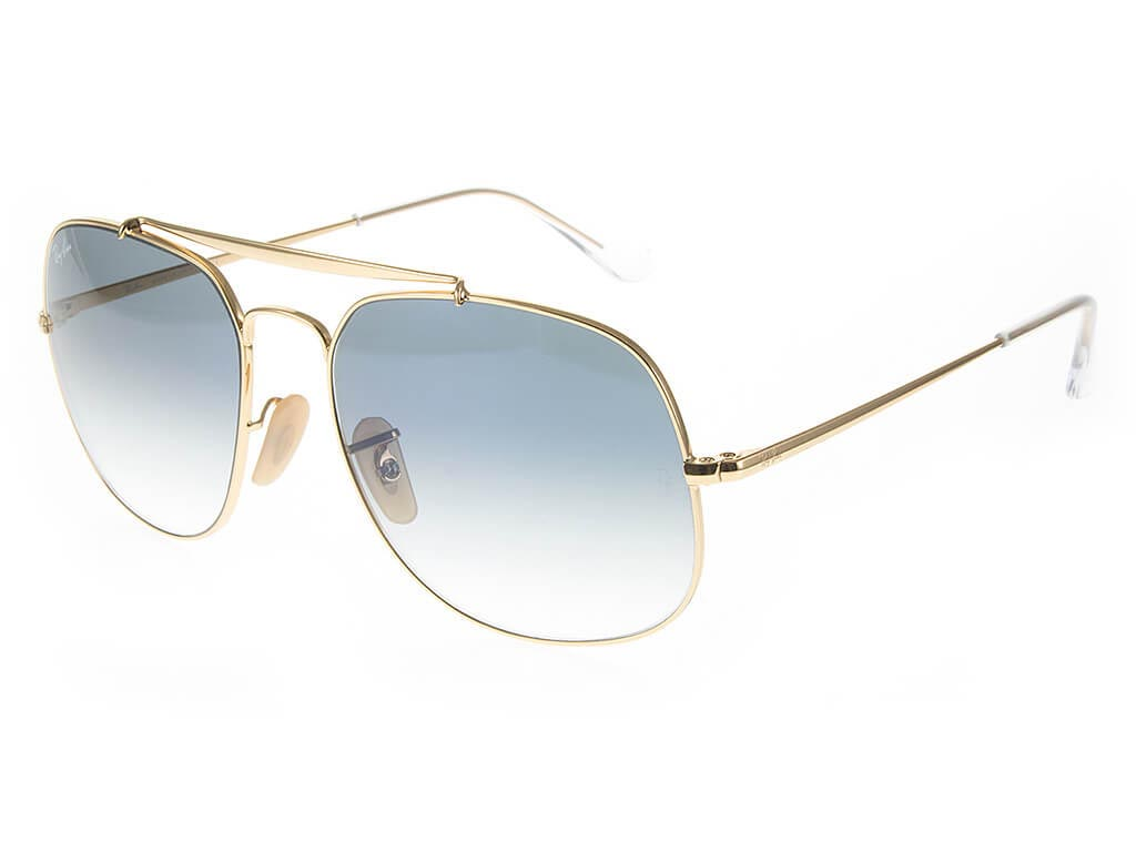 37e06f588b1f8 Ray-Ban RB3561 The General Gold Crystal Blue sunglasses