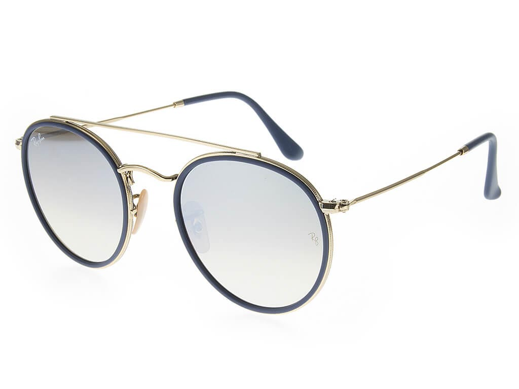 Ray-Ban RB3647N Double Bridge Gold Silver sunglasses   Feel Good Contacts UK ee1d3622e601