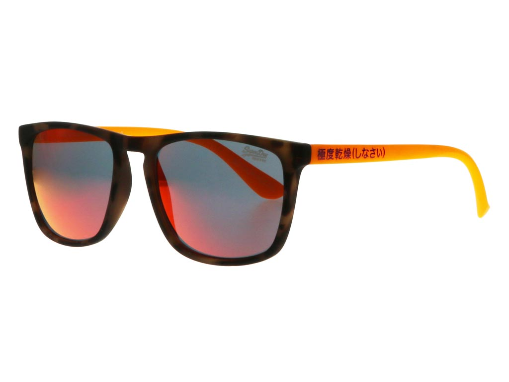 Sonnenbrille Superdry Shockwave orange camouflage matt fluro IefQxI