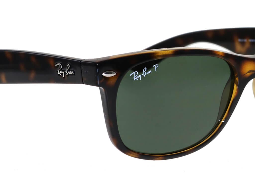 cbb880634 Ray-Ban RB2132 New Wayfarer Tortoise 902/58 Polarised sunglasses ...