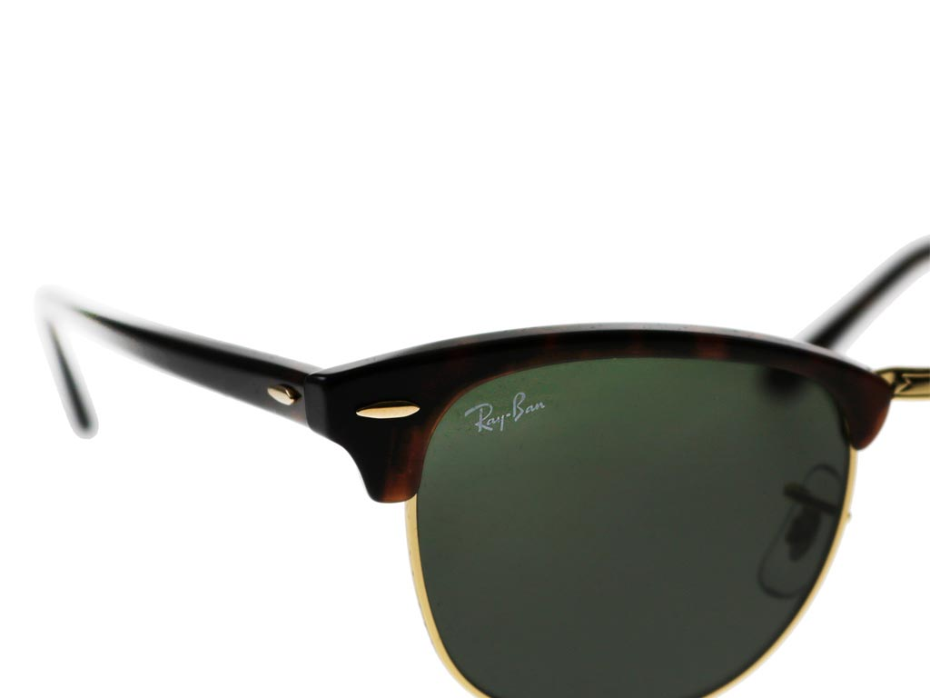 ray ban rb3016 clubmaster tortoise w0366 49 sunglasses. Black Bedroom Furniture Sets. Home Design Ideas