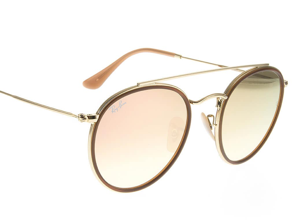 a0f93e28fe4 ... Ray-Ban RB3647N Double Bridge Gold Copper Gradient 001 70 ...