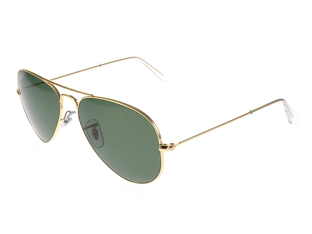a5ad518c7e Ray-Ban RB3025 Aviator Gold Green 001 58 55 sunglasses