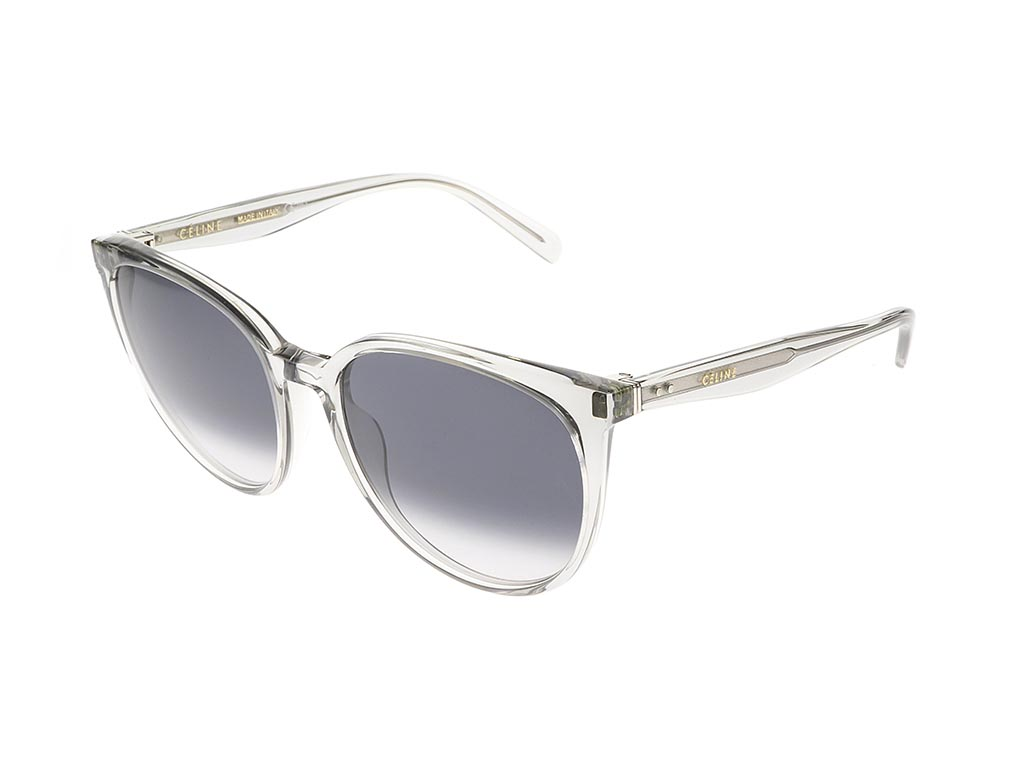 06d758befe0e Celine Thin Mary CL 41068 S Transparent Grey RDN W2 sunglasses ...