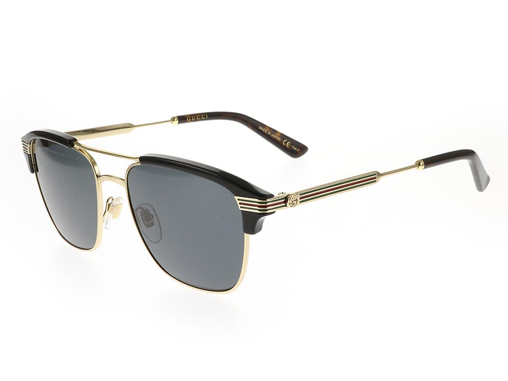 008468072ef Gucci GG0241S Gold Black 002 sunglasses