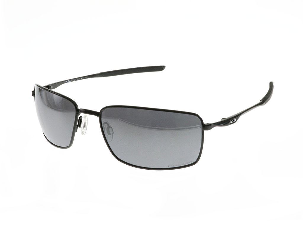02bc2c84bf Oakley Square Wire OO4075-13 Polished Black Prizm