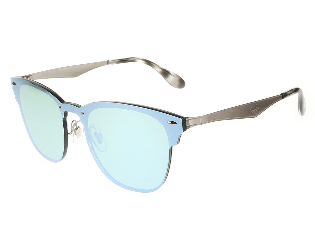 Ray-Ban RB3576N Blaze Clubmaster Silver sunglasses   Feel Good Contacts UK 281abdcfb5