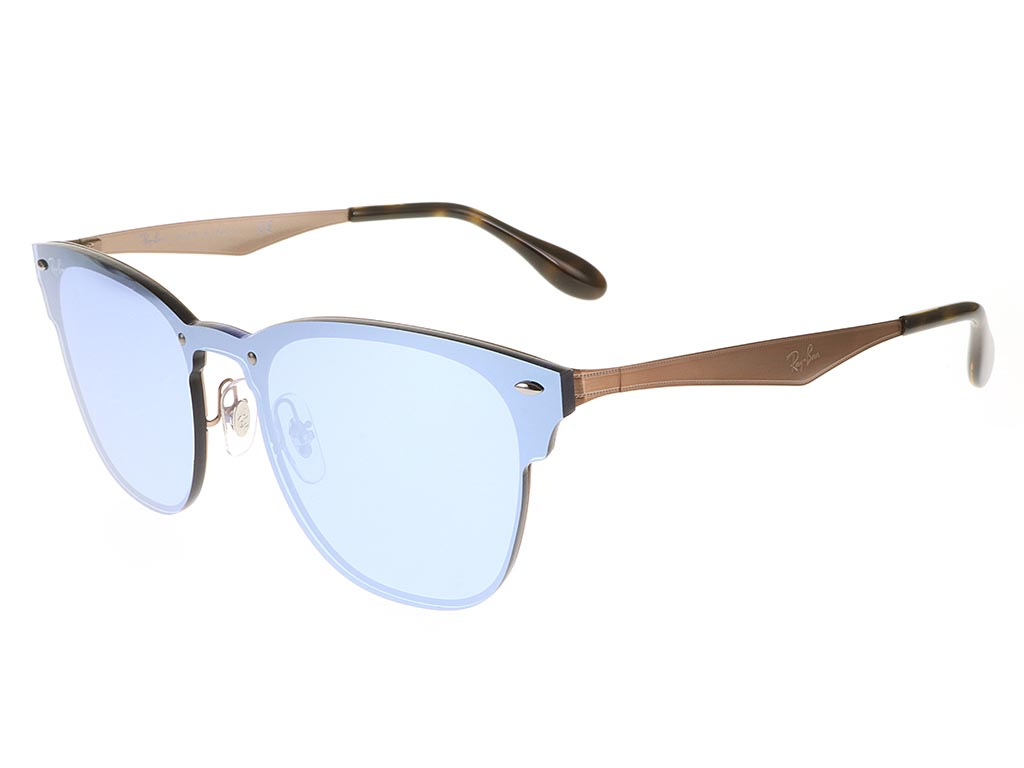 92d6300f346 Ray-Ban RB3576N Blaze Clubmaster Copper Silver sunglasses