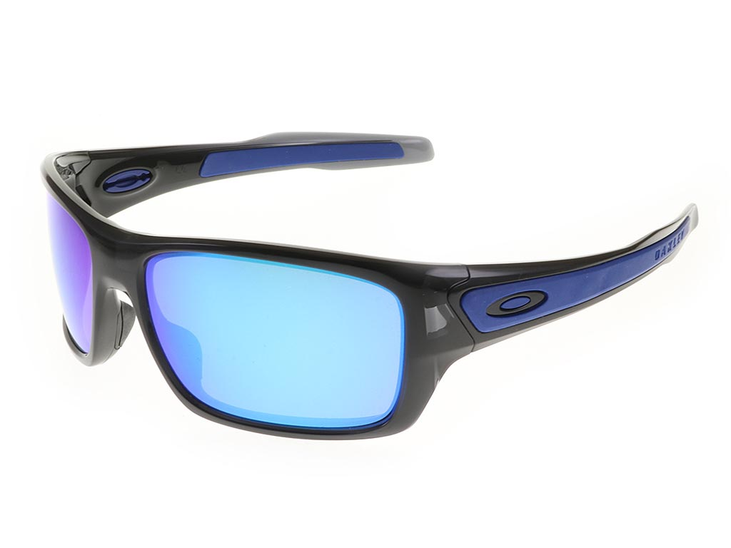 ace97afed4a Oakley Turbine OO9263-0563 Black Ink Sapphire sunglasses