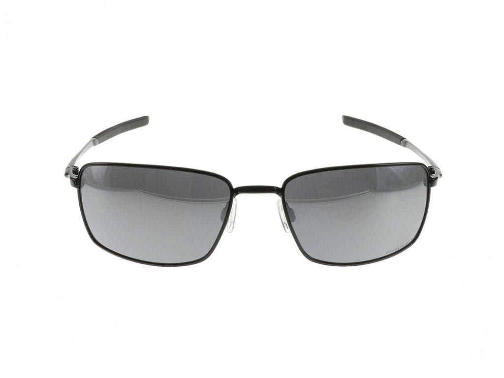 Oakley Square Wire Oo4075 13 Polished Black Prizm Feel
