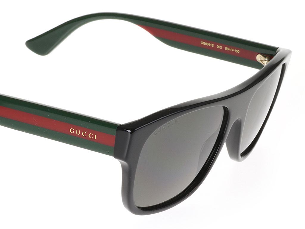 c64f6d93a Gucci GG0341S Black 002 Polarised | Feel Good Contacts UK