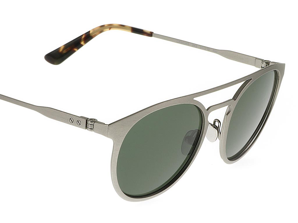 aa94fdf44a3d Calvin Klein Collection CK8034S Brushed Nickel sunglasses