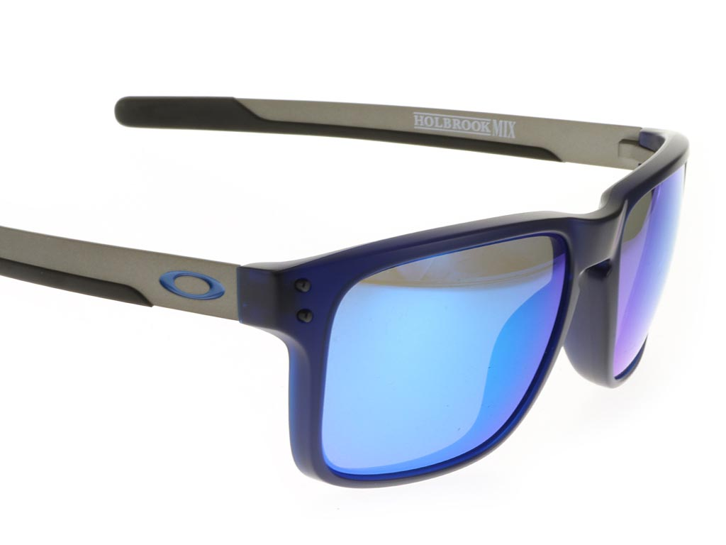 a53572c3798 ... Oakley Holbrook Mix OO9384-03 Matte Translucent Blue Prizm Polarised ...