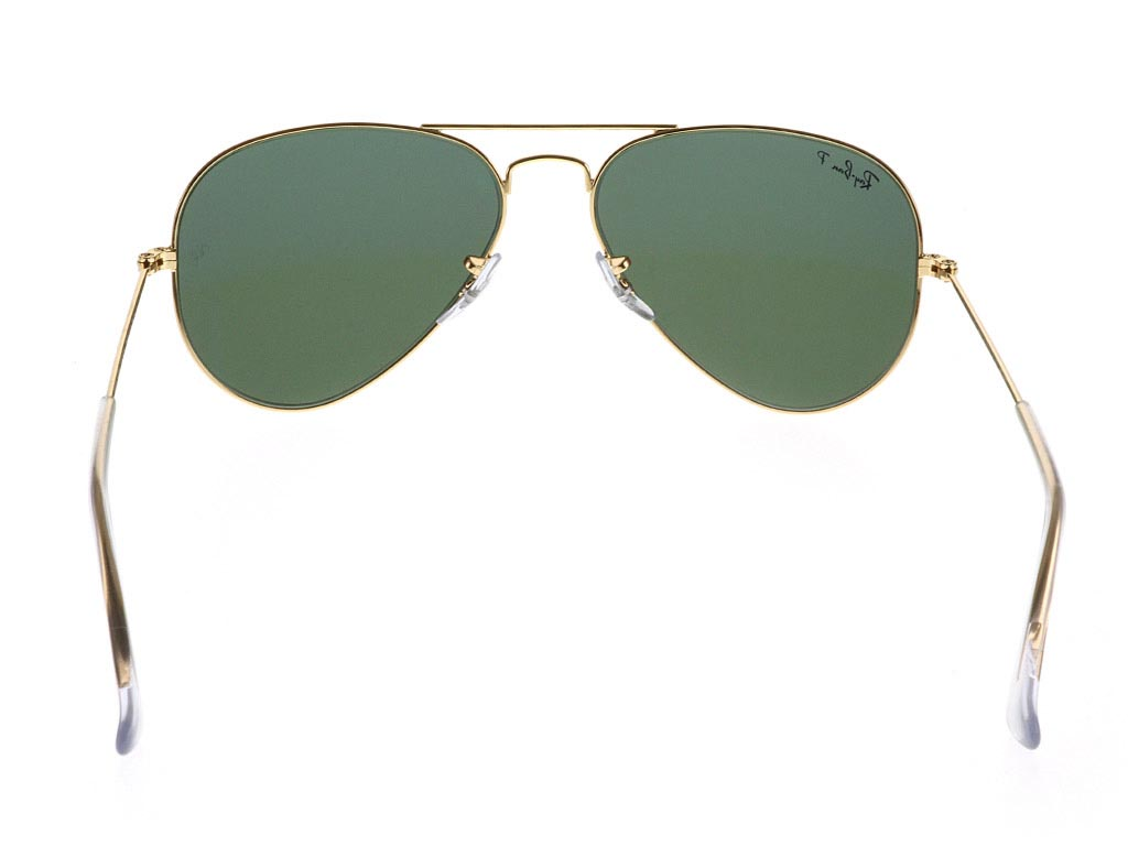 bfb10a3ede0 ... Ray-Ban RB3025 Aviator Gold Green 001 58 Polarised ...