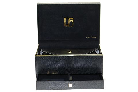 Linda Farrow 440 Black Gold Plated C3