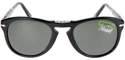 Persol Folding PO0714 95/58 Black Polarised