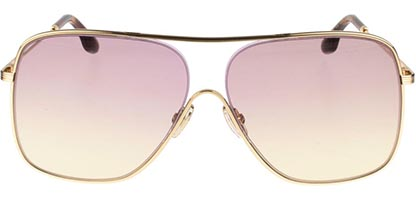 Victoria Beckham VB132S 707 Gold/Pink Yellow