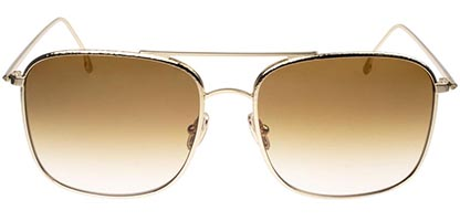 Victoria Beckham VB202S 702 Gold/Brown