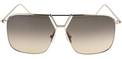 Victoria Beckham VB204S 702 Gold/Brown